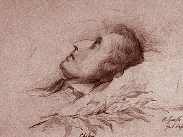Na łożu śmierci (Fot. kalejdoskop-chopin.pl)