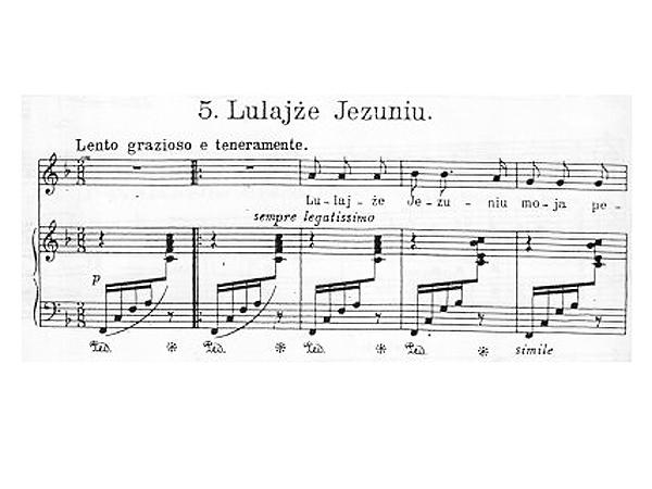 """S. Niewiadomski """"Lulajże Jezuniu"""" (Fot. archiwum autora)"""