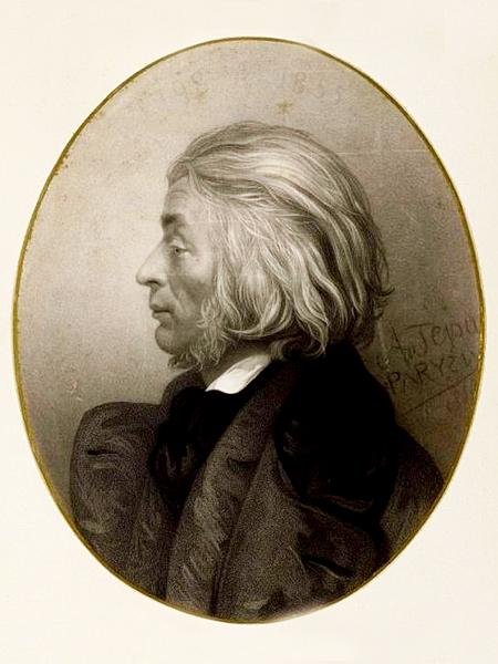 Franciszek Tepa, portret Adama Mickiewicza