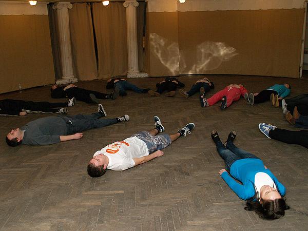 Ćwiczenia na prawidłowy oddech (Fot. Eugeniusz Sało)