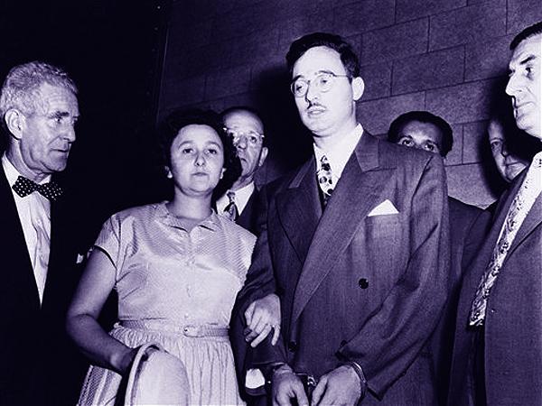 Ethel i Juliusz Rosenbergowie (Fot. niewiarygodne.pl)