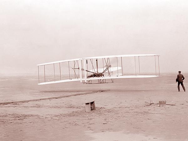 Samolot braci Wright (Fot. elektroda.pl)