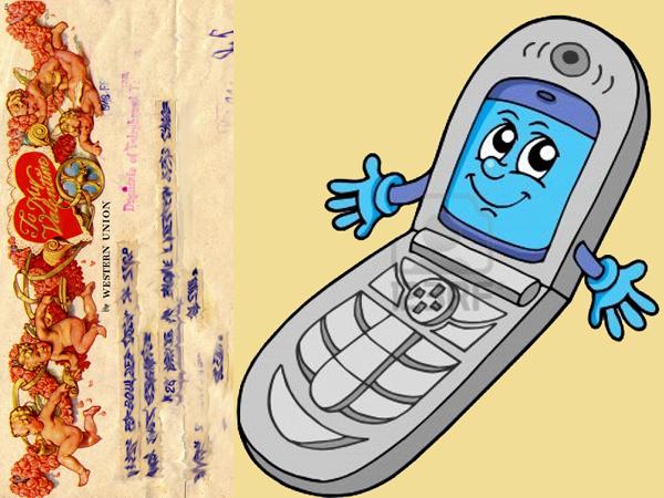 Czasy się zmieniają: Telefon