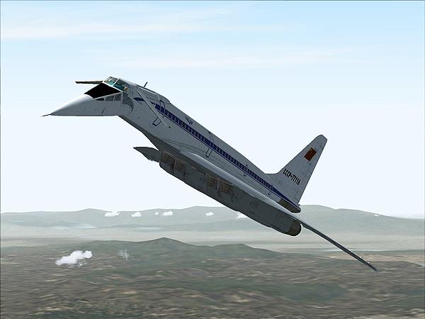 Konkurent – Tu 144 (Fot. deviantart.com)