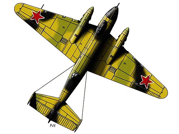 Bombowiec Jer-2 (Fot. pl.wikipedia.org)