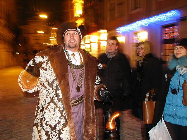 Nocny burmistrz – opiekun Lwowa