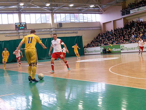 Futsal. Ukraina – Polska 3:0