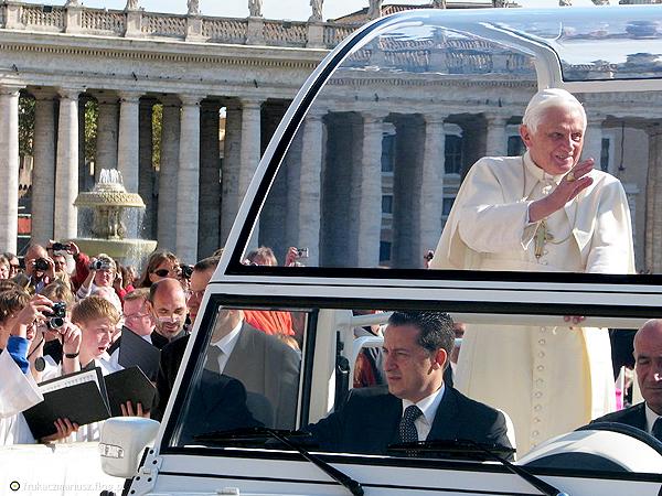 Ostatnie spotkanie z Benedyktem XVI