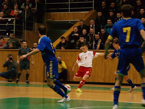 Futsal. Ukraina lepsza