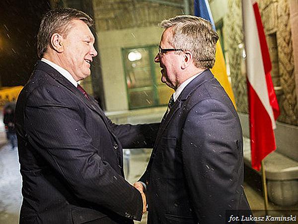 Spotkanie prezydentów Polski i Ukrainy