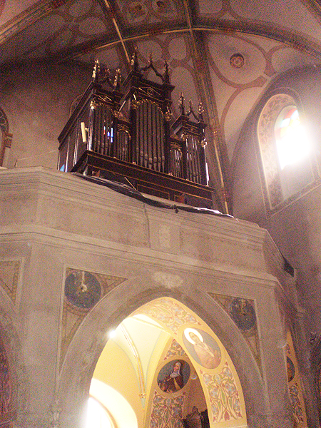 Organy w kościele p.w. św. Jana Chrzciciela w Mościskach (Fot. mgblog.pl)