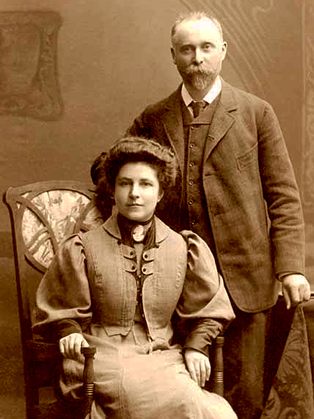Bronisław Piłsudski i jego wielka miłość Maria z Baniewiczów Żarnowska, 1910 (Fot. mianowski.waw.pl)
