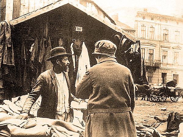 Drobny handlarz żydowski