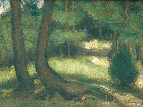 Ludomir Benedyktowicz, W lesie (Fot. zielonalekcja.pl)