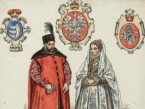 Jan Matejko, Stefan Batory z żoną – Anną Jagiellonką (Fot. pl.wikipedia.org)