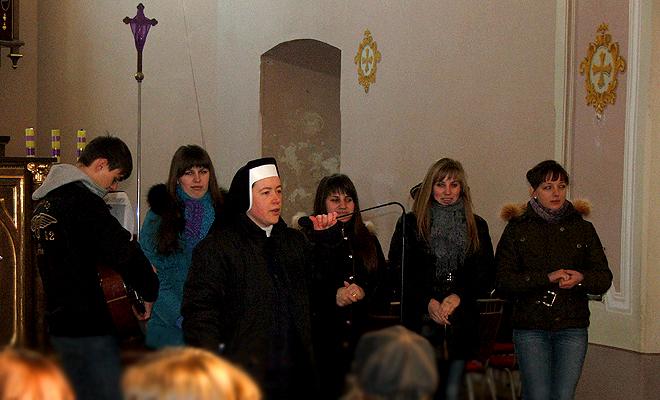 Spotkanie młodzieży dekanalnej w Mościskach