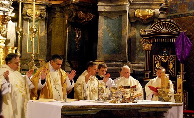 Wielki Czwartek w lwowskiej katedrze