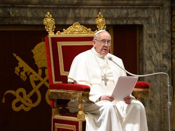Papież Franciszek (Fot. todayonline.com)