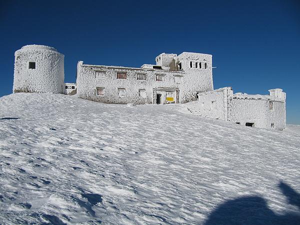 Obserwatorium astronomiczne na górze Pop Iwan (Fot. archiwum Uniwerytetu Przykarpackiego)