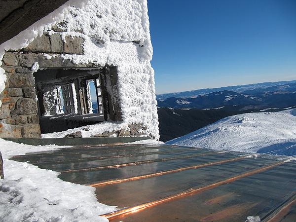 Dach obserwatorium na Popie Iwanie (Fot. archiwum Uniwerytetu Przykarpackiego)