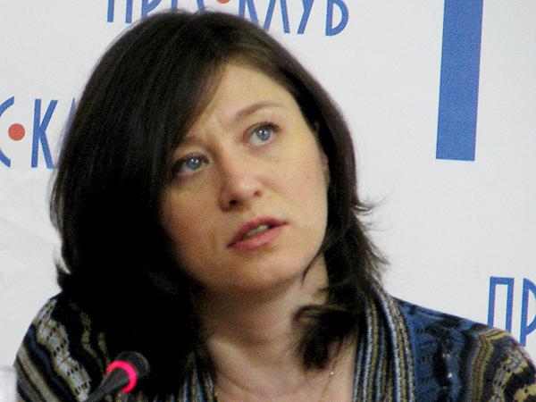 Halyna Kruk, pisarka i profesor literatury światowej na Uniwersytecie Lwowskim (Fot. Julia Łokietko)