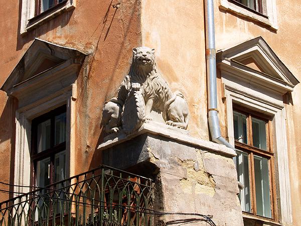 Na rogu ulic Halickiej i Starożydowskiej (Fot. Maria Basza)
