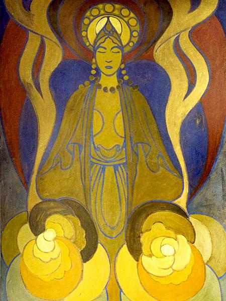 Kajetan Stefanowicz, Milczenie (Fot. Lwowska Galeria Sztuki, 1913)