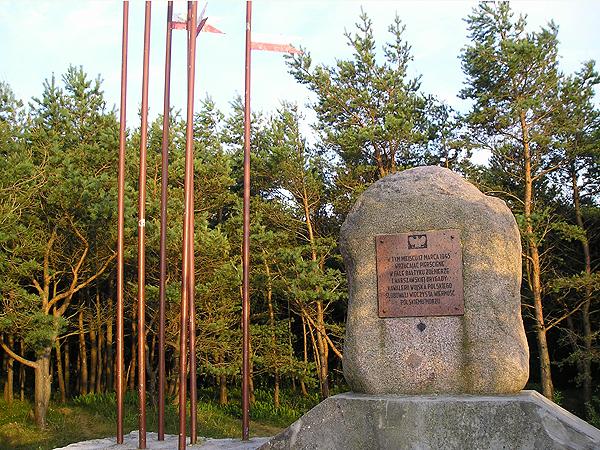 Pomnik Zaślubin z Morzem w Mrzeszynie (Fot. popiasku.blogspot.com)