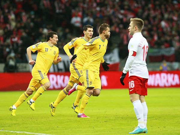 Polska przegrywa z Ukrainą na stadionie Narodowym