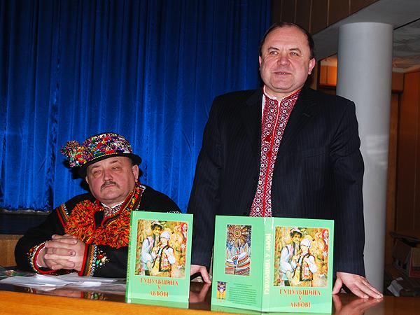 Wasyl Korżuk i Aleksander Maslanyk (Fot. Konstanty Czawaga)