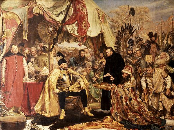 Jan Matejko, Stefan Batory pod Pskowem 1872 (Fot. Zamek Królewski w Warszawie)