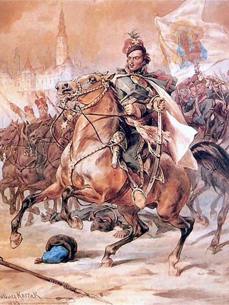 Juliusz Kossak, Kazimierz Pułaski pod Częstochową (Fot. rp.pl)