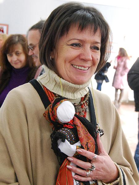 Oksana Smereka-Małyk (Fot. Konstanty Czawaga)