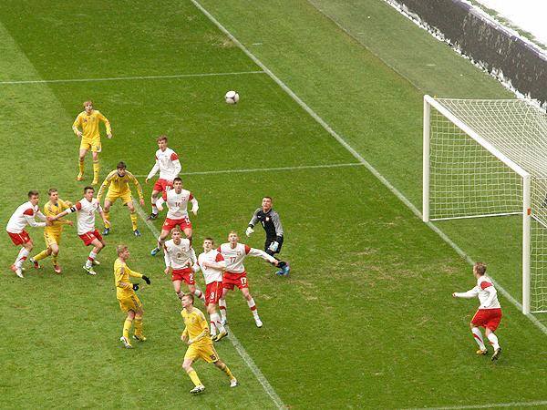 Zemsta młodych orłów: Polska – Ukraina 6:0