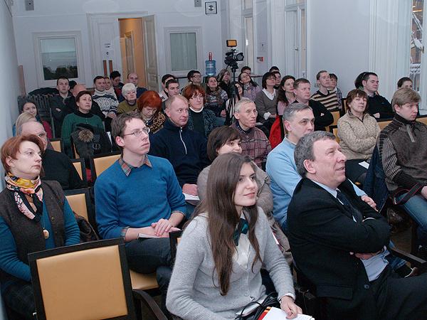 Uczestnicy prezentacji (Fot. Eugeniusz Sało)