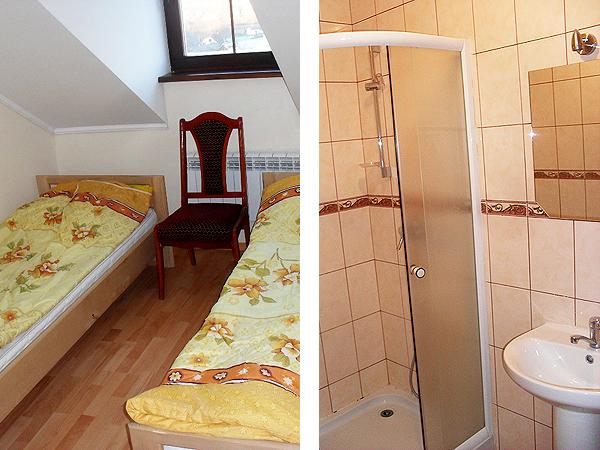Pokoje o standardzie hotelowym (Fot. archiwum klasztoru)