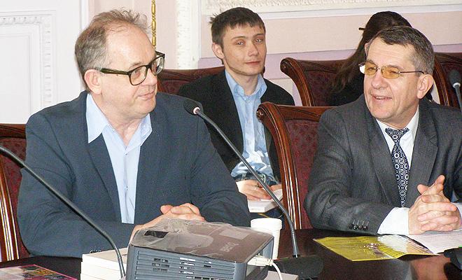 Spotkanie z profesorem Wojciechem Wrzoskiem