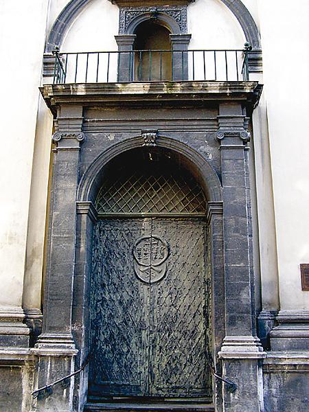 Portal wejścia głównego (Fot. Jurij Smirnow)