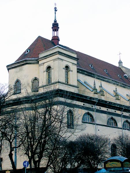 Kościół Jezuitów św. Piotra i Pawła. Część 1