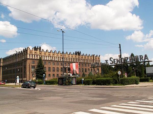 ArcelorMittal Poland S.A. Oddział w Krakowie, d. Huta im. T. Sendzimira (Fot. wikimapia.org)
