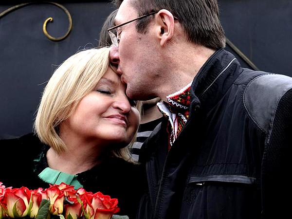 Prezydent Janukowycz ułaskawił Jurija Łucenkę