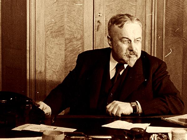 Stanisław Stroński – minister informacji i dokumentacji, 1939 – 1943 (Fot. Narodowe Archiwum Cyfrowe)