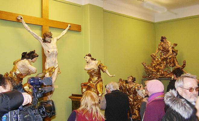 Rzeźby Pinsla wróciły do Lwowa