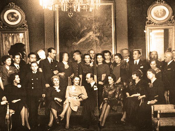 Rodzina Longchampsów 1937 rok. G. Połuszejko, Obco brzmiące nazwisko będziesz nosił... Rodzina Longchamps de Berier, Lublin 2011 (Fot. archiwum prywatne autora)