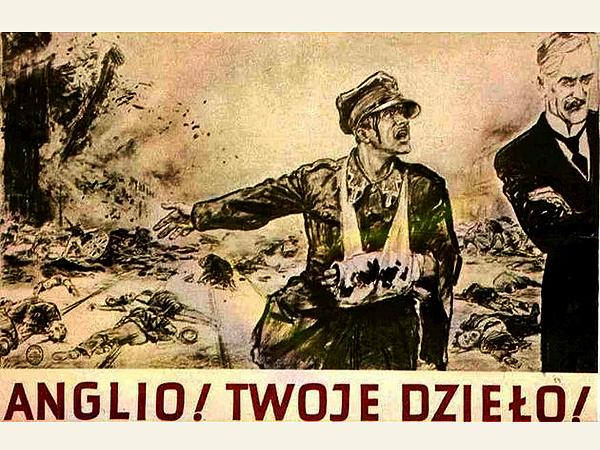 """""""Niesławnej pamięci"""", plakat Theo Matejki"""