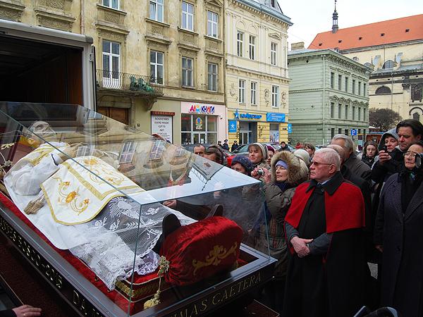 Peregrynacja relikwii św. Jana Bosko