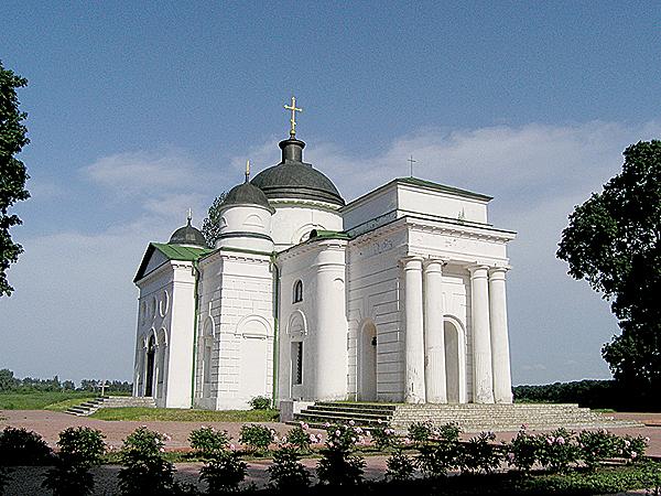 Georgijewska cerkiew na terenie zespołu (Fot. Dmytro Antoniuk)