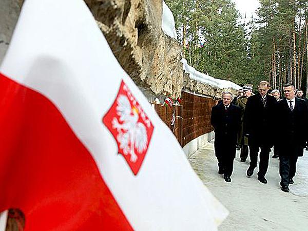 W Katyniu oddano hołd ofiarom mordu