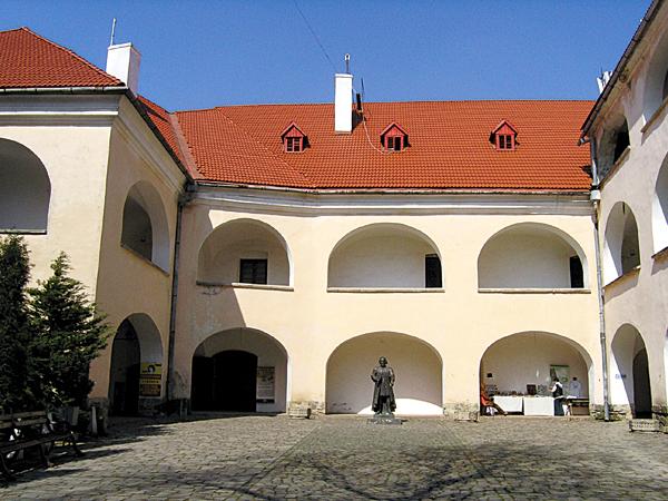Pałac Górny - obecnie tu mieści się muzeum (Fot. Dmytro Antoniuk)