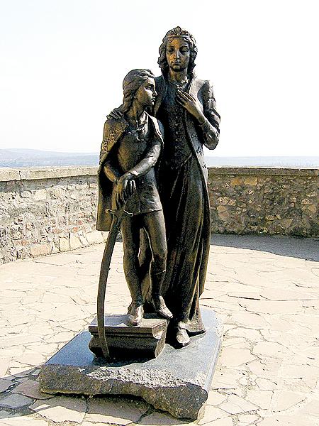 Ilona Zrini i jej syn Ferenc II Rakoczy (Fot. Dmytro Antoniuk)